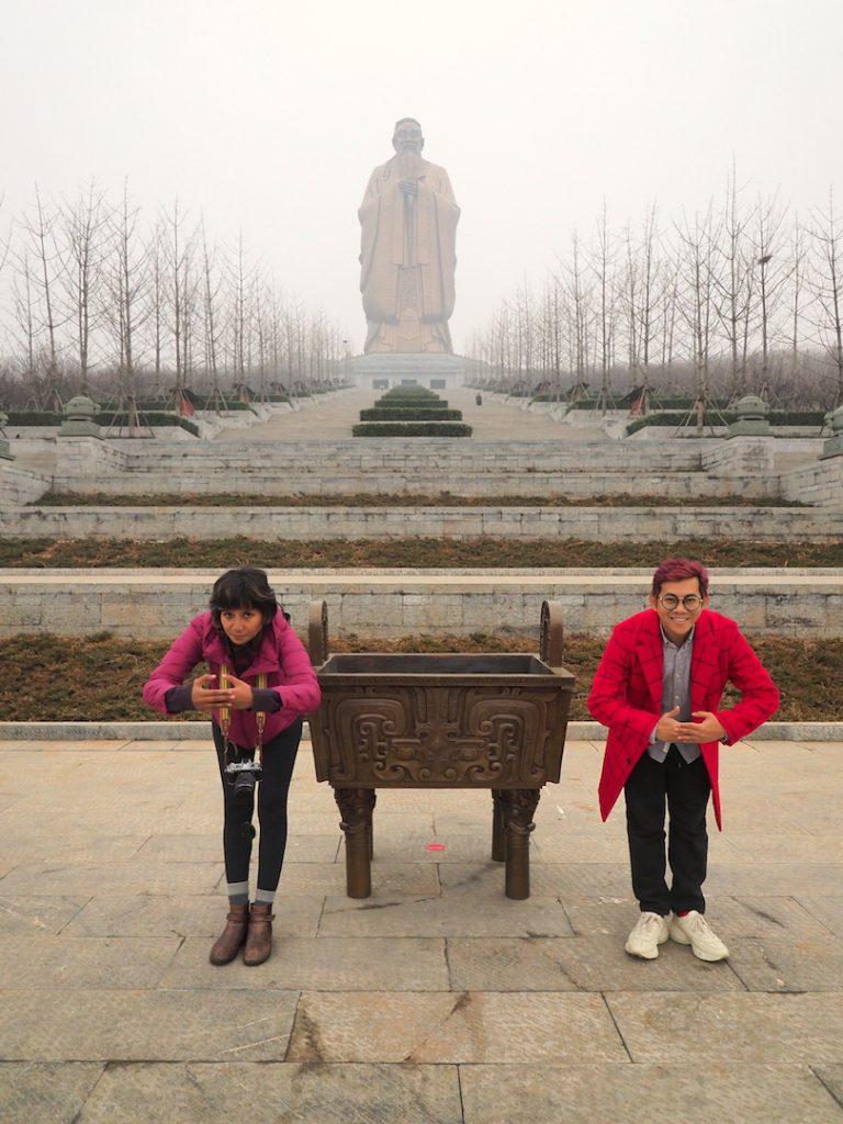pemerintah Tiongkok memanfaatkan konfusianisme untuk meningkatkan pariwisata budaya. Tiongkok